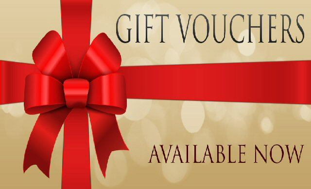Gift Vouchers Now Available To Purchase Online