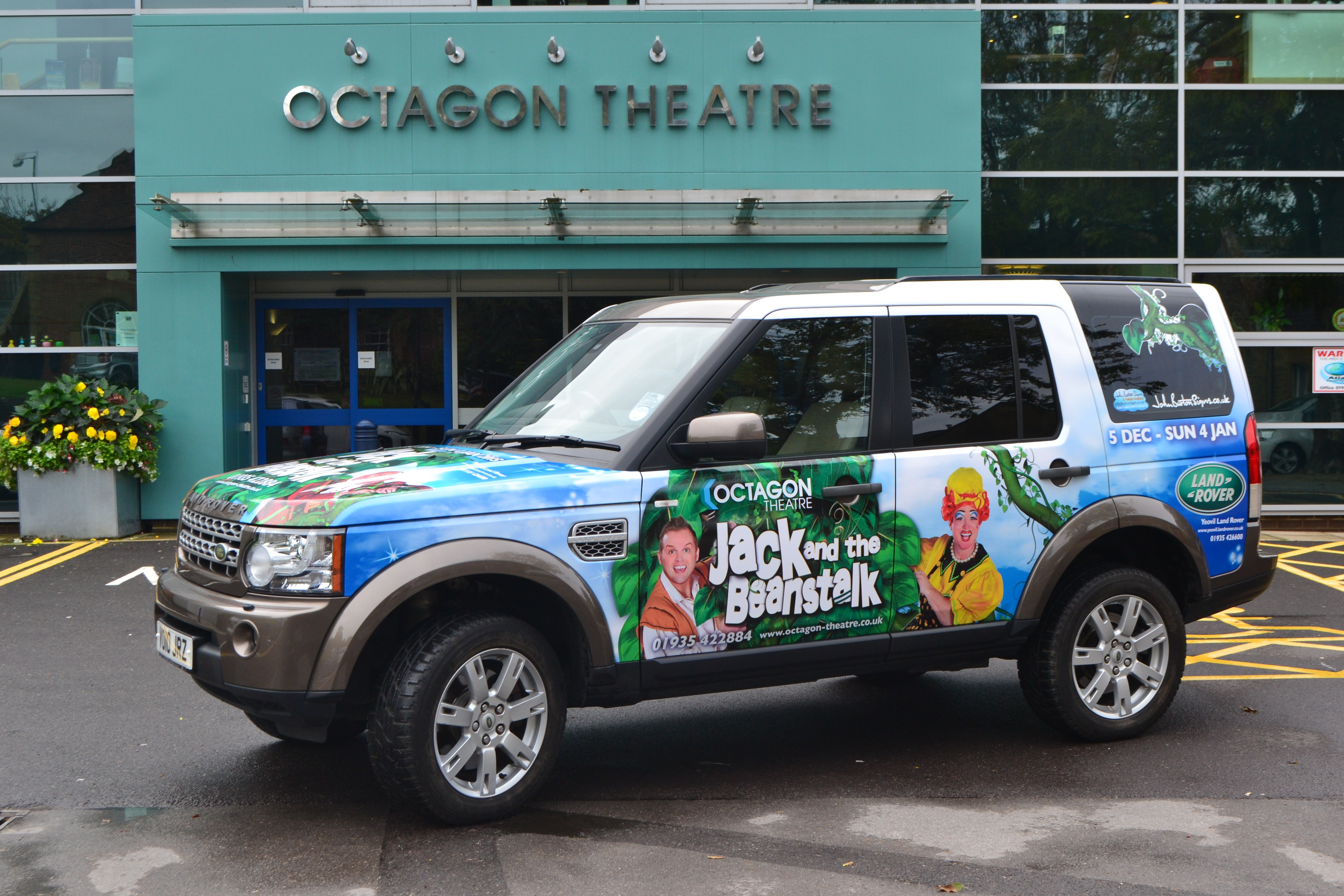 A huge thank you to Yeovil Land Rover & John Burton Signs*