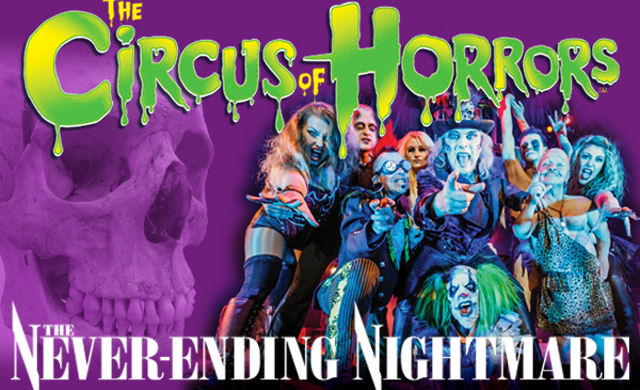 The Circus of Horrors: The Never-Ending Nightmare