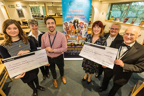 Peter Pan Helps To Raise Over £10K For Local Charities