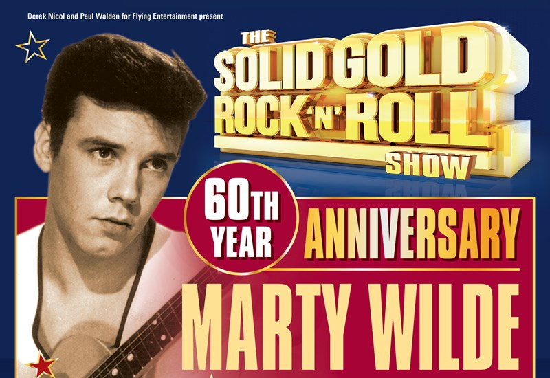 The Solid Gold Rock 'N' Roll Show: Marty Wilde 60th Anniversary Tour