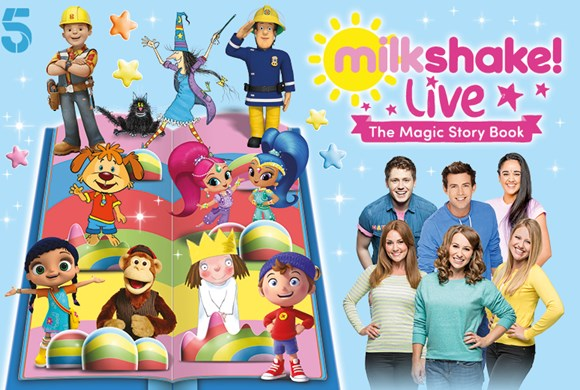 Milkshake! Live 'The Magic Story Book'