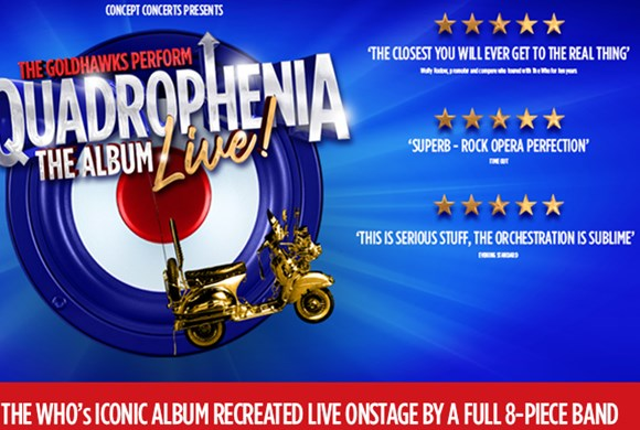 Quadrophenia the Album Live