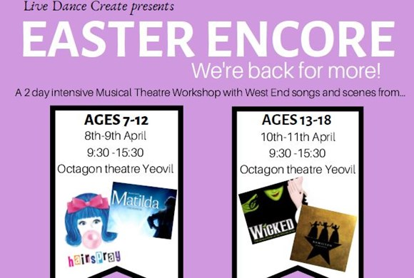 Live Dance Create Easter Encore