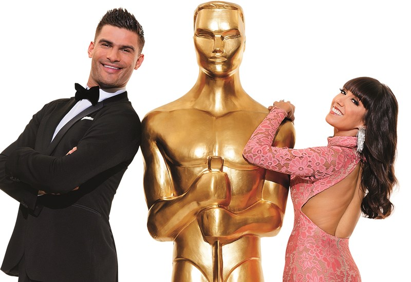 Remembering the Oscars - Statue pose