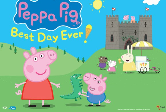 Peppa Pig Best Day Ever Image