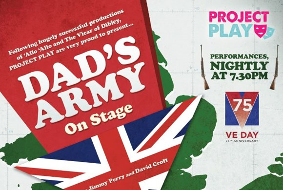 Dad's Army On Stage Poster photo