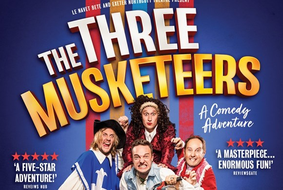 The Three Musketeers - a comedy adventure poster photo