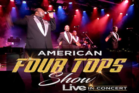 American Four Tops Show Live In Concert