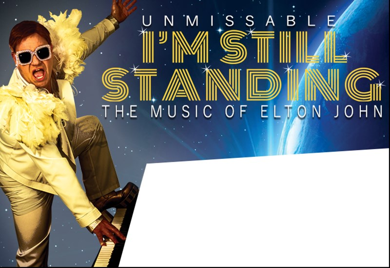 The poster advertising 'Unmissable, I'm still standing'