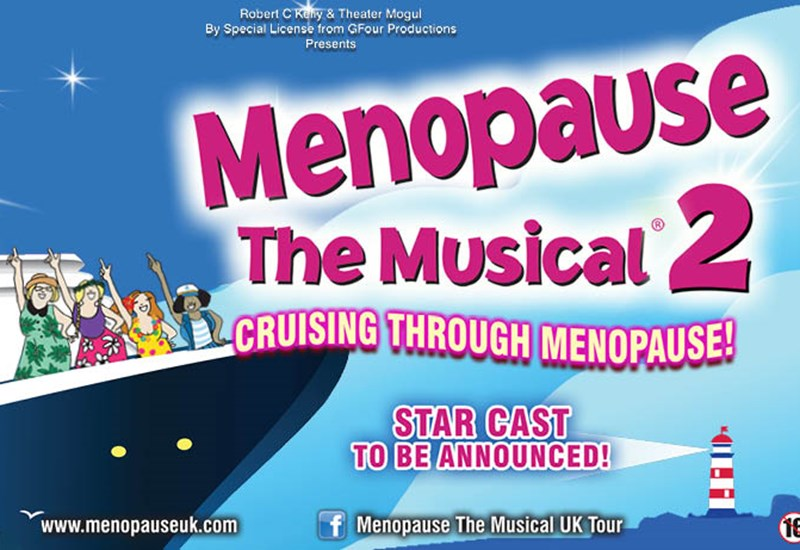The poster for Menopause the musical