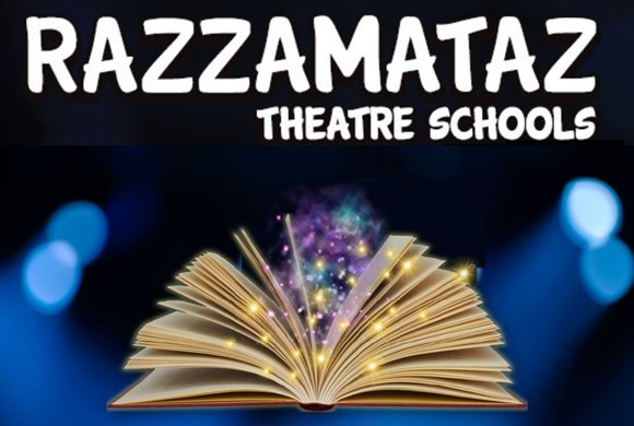 Razzamataz Theatre School Poster with Magic Book photo