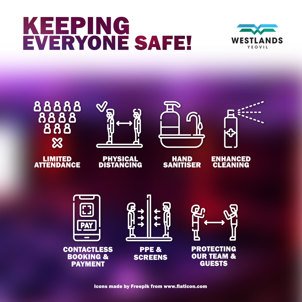 Keeping Everyone Safe Graphic