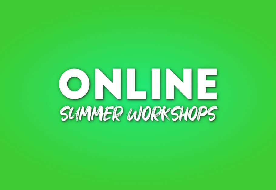 Online summer Workshops logo