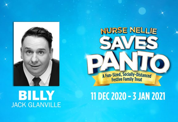 Meet Nurse Nellie Saves Panto's Fabulous Five: Jack Glanville as Billy!