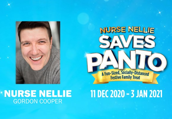 Meet Nurse Nellie Saves Panto's Fabulous Five: Gordon Cooper as Nurse Nellie!
