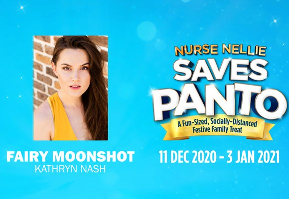 Meet Nurse Nellie Saves Panto's Fabulous Five: Kathryn Nash is Fairy Moonshot