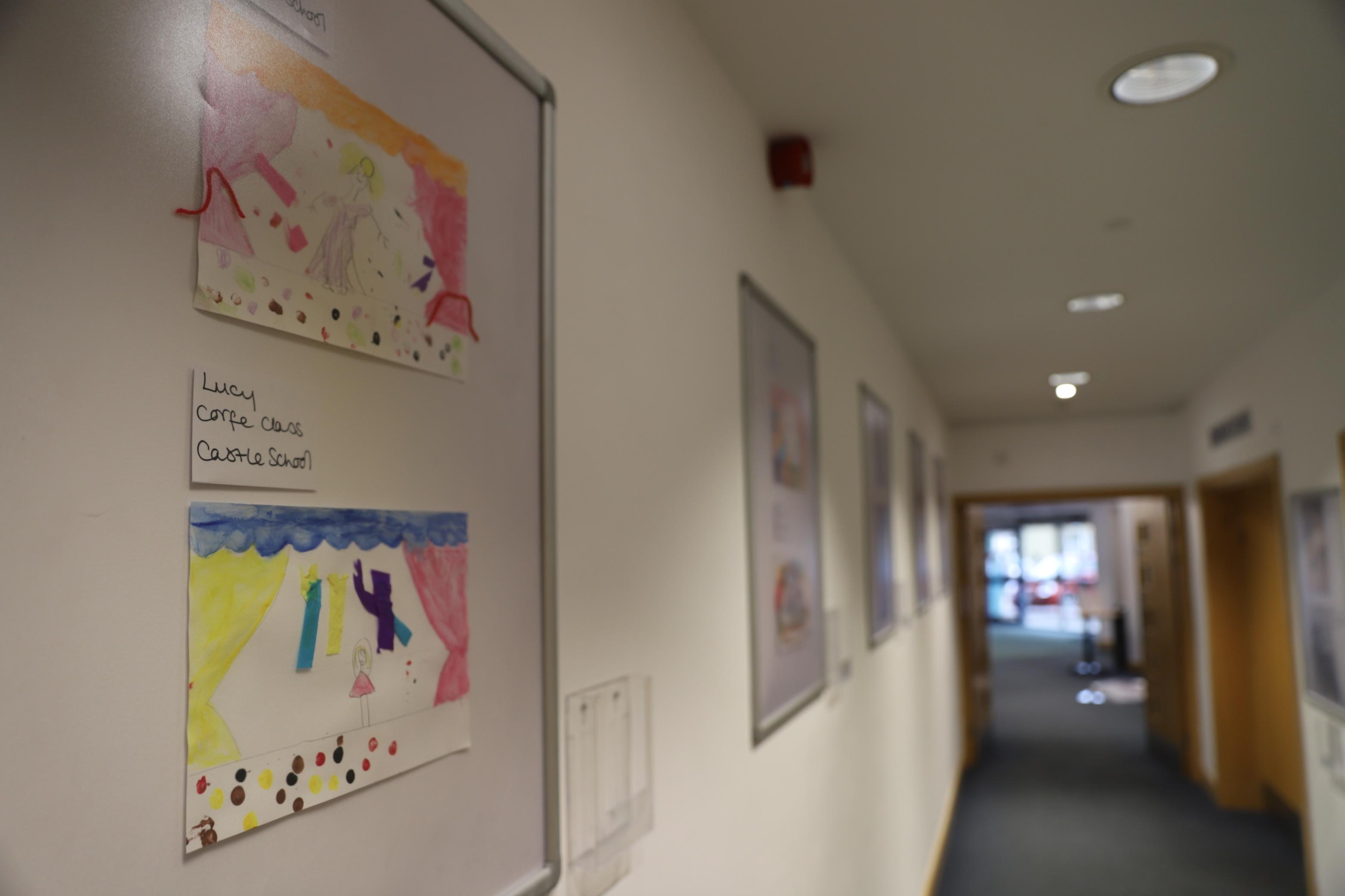 Artwork on Display by Castle Primary School