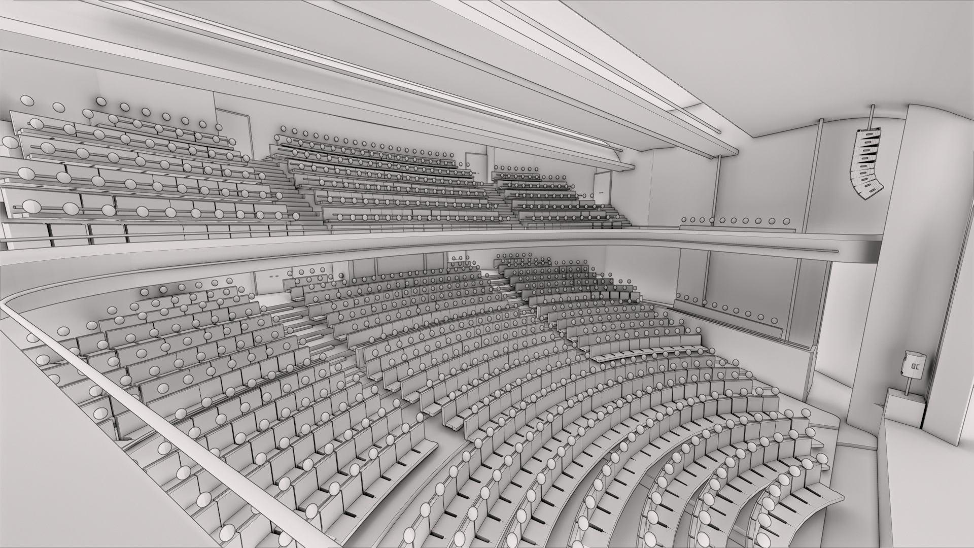 Octagon Planned Seating Layout