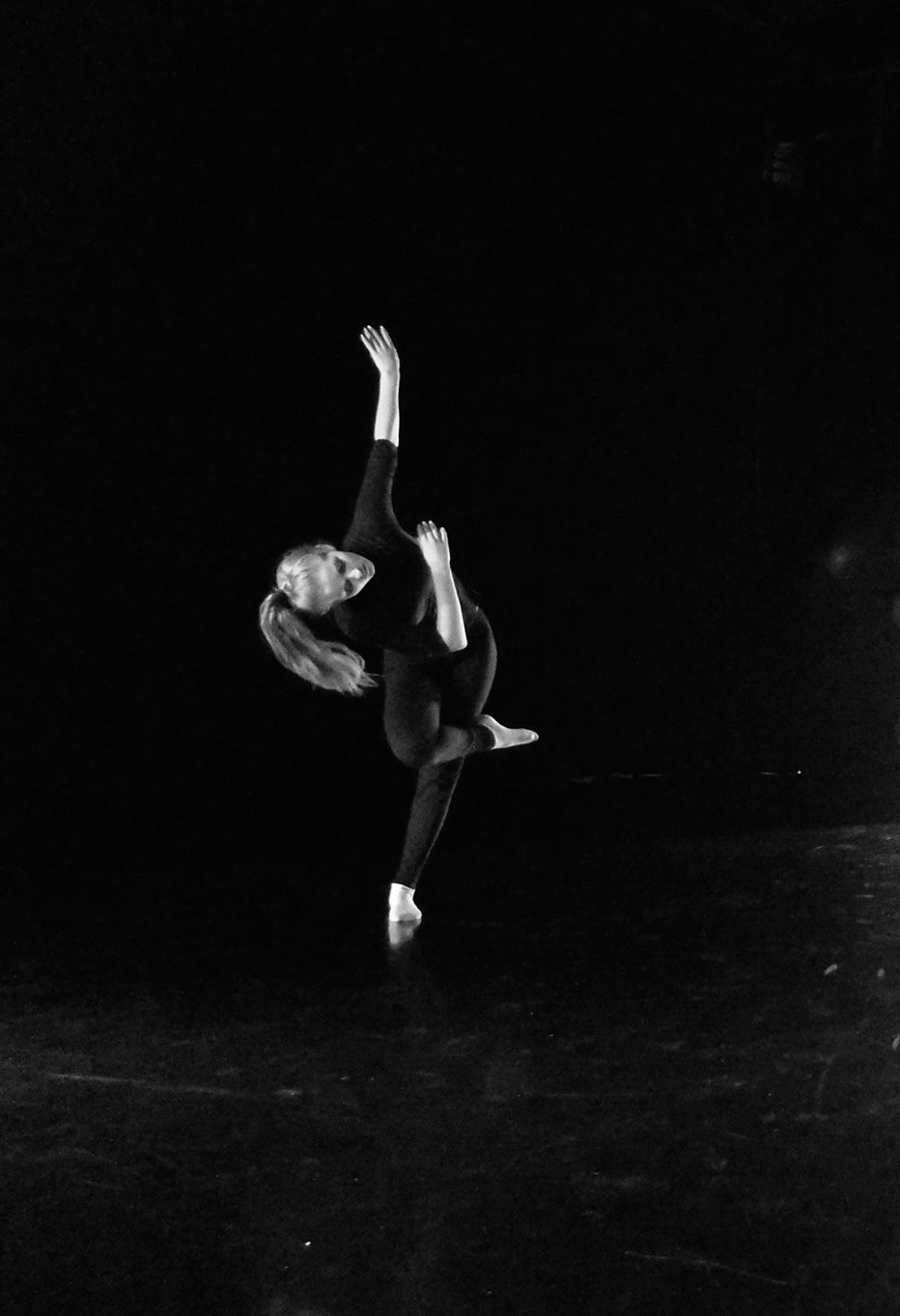 Natalie Hyde contemporary dance jump