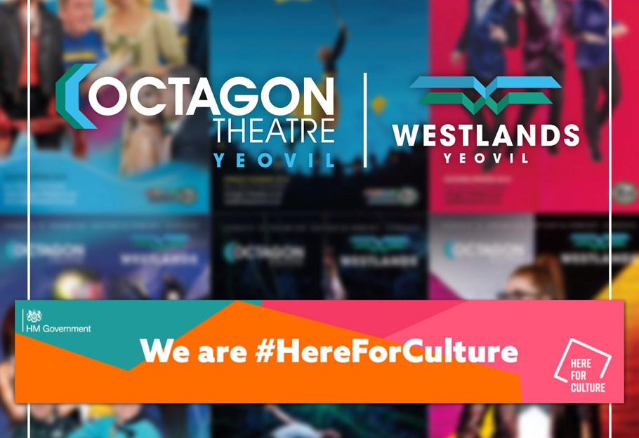 The Octagon Theatre and Westlands Entertainment Venue have been awarded vital funding from the Government's Culture Recovery Fund!